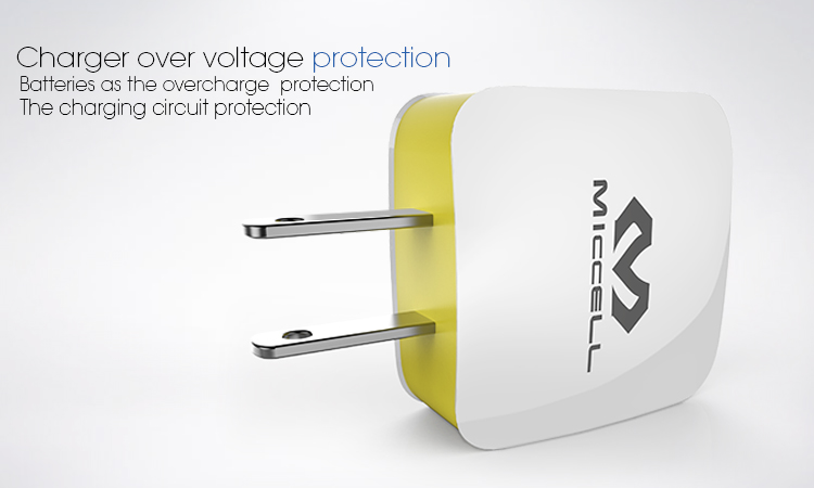 Veaqee Dual USB travel Charger EU home charger US wall mobile phone charger(VQCT-1657)