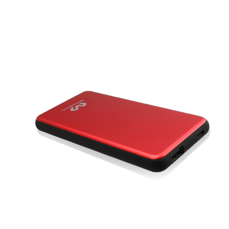 Veaqee portable 8000mah metal power bank P21B
