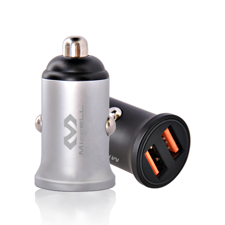 Veaqee dual port QC3.0 quick charge usb car charger C25