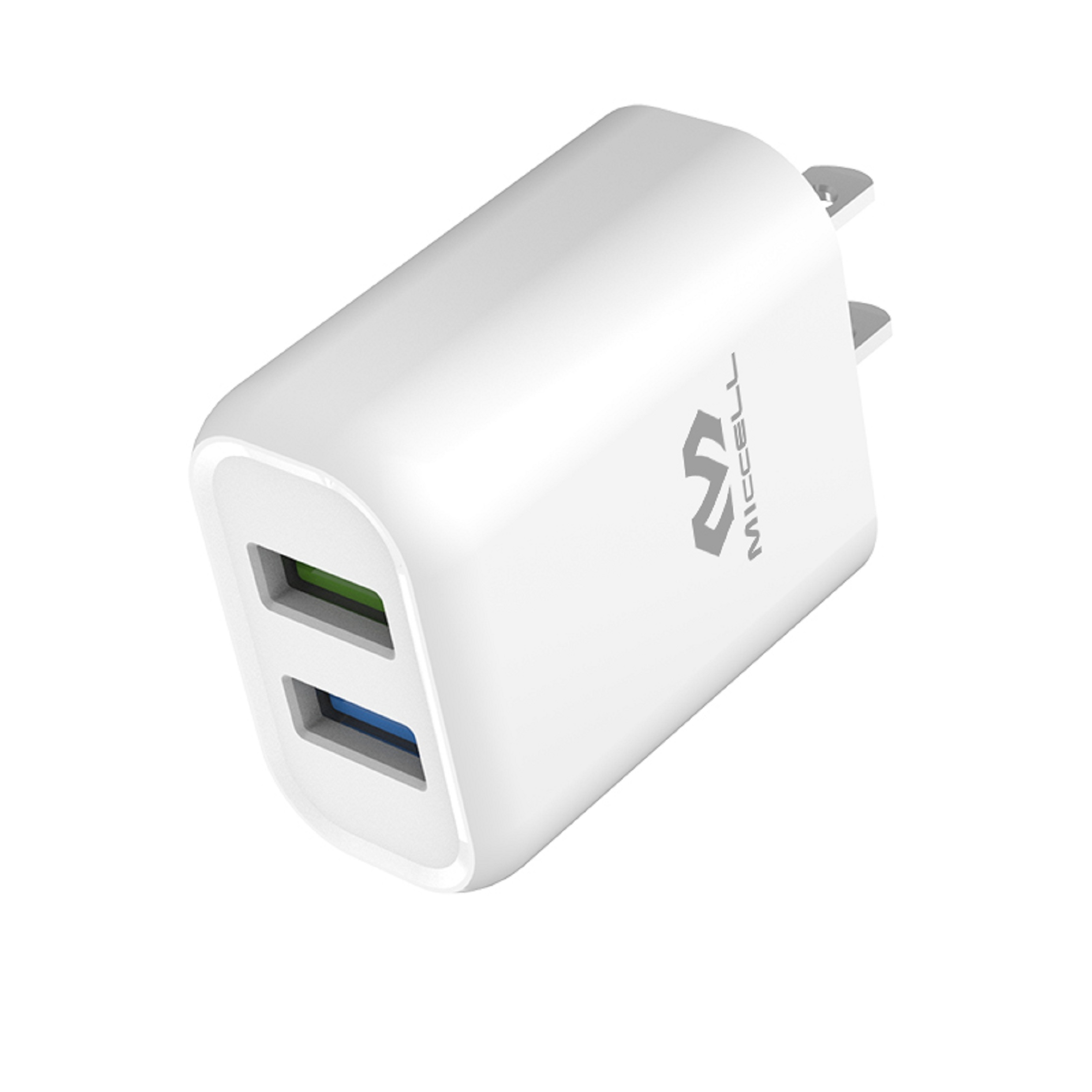 5V 2.4A USB dual charger plug US for iphone T05U