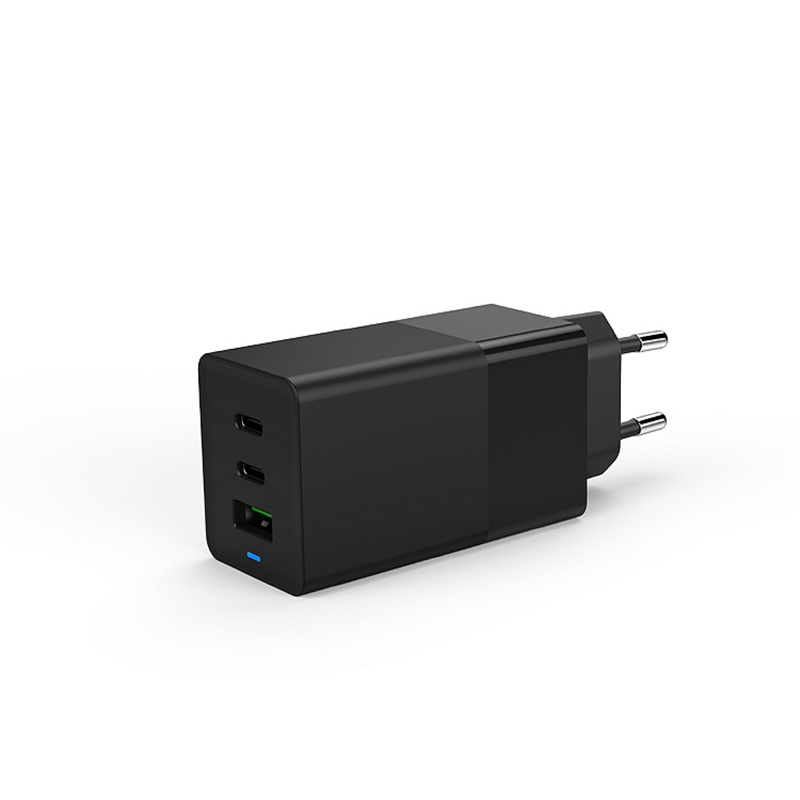 Gan fast charger multi port 65w PD usb c wall charger - Mobile accessory manufacturers