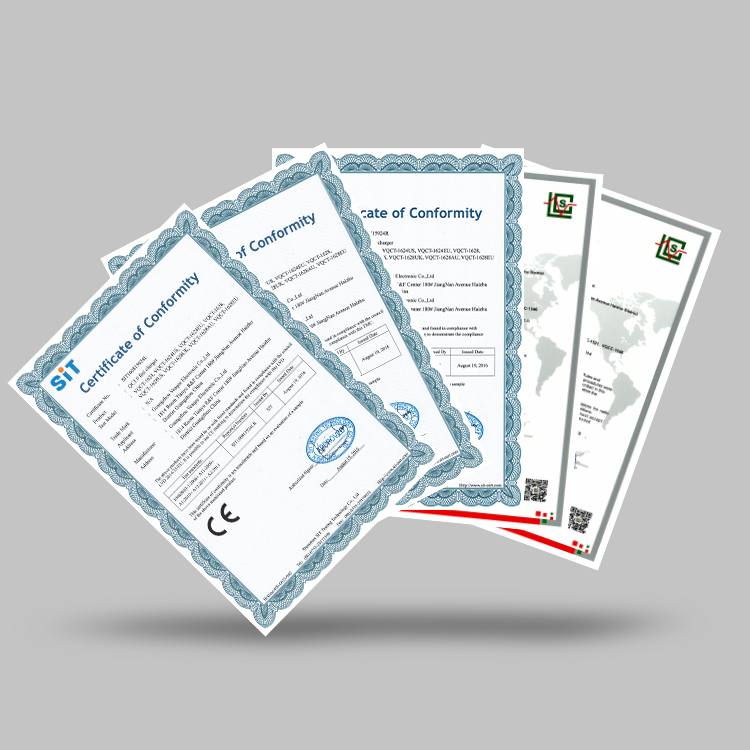 Veaqee company certifications 2