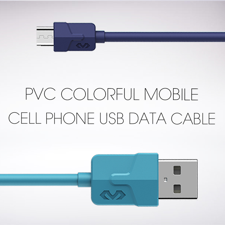 Veaqee manufacturer Miccell brand PVC colorful mobile cell phone usb data cable wire for iphone 7 8 x(VQ-D02)-1