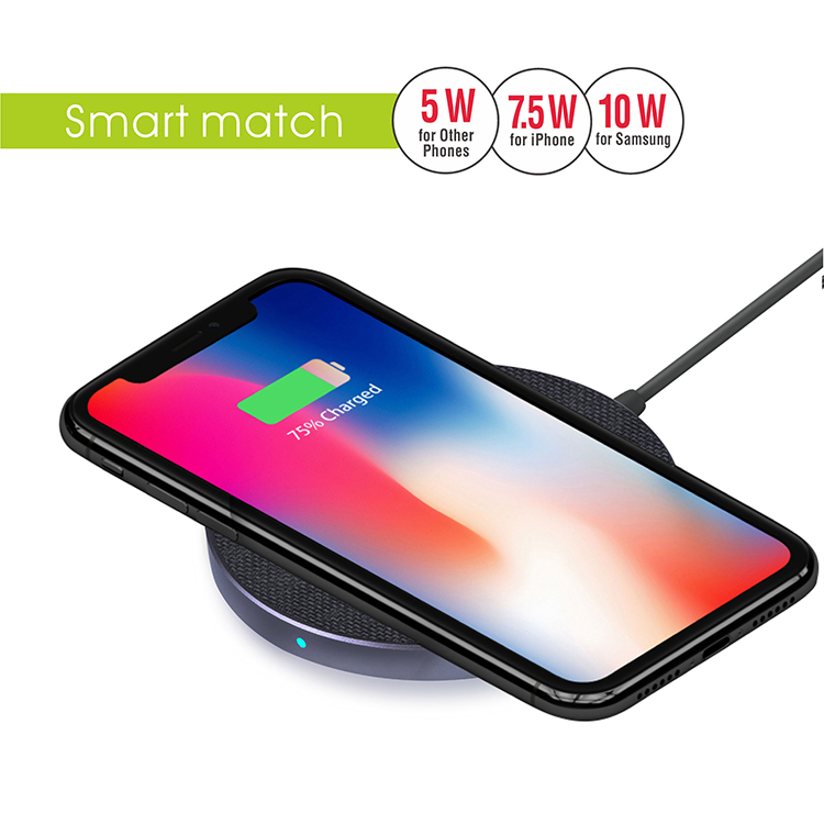 Fast QI Wireless Charger Pad(VQ-W11)