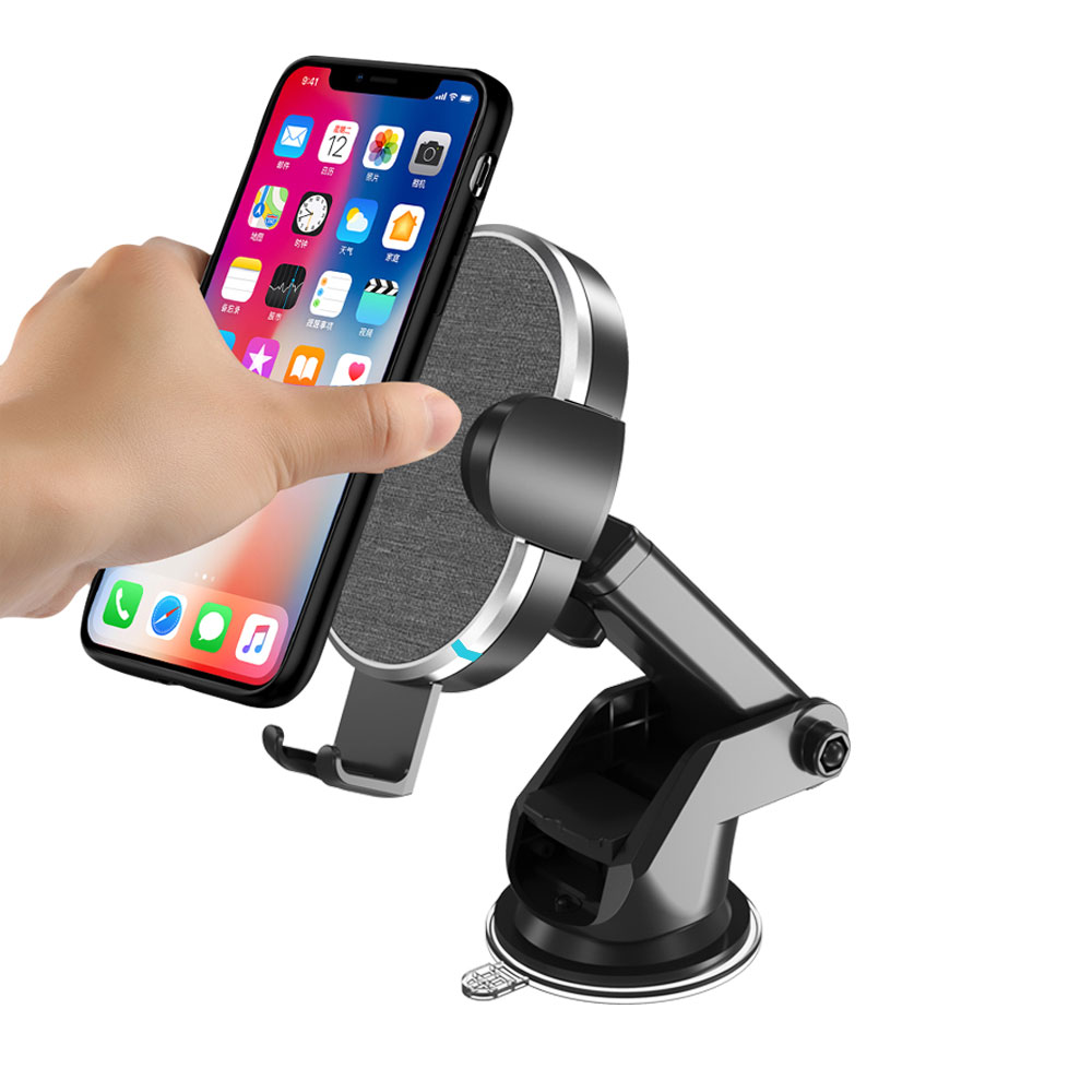 Fast QI Wireless Car Mount Charger (VQ-W14)
