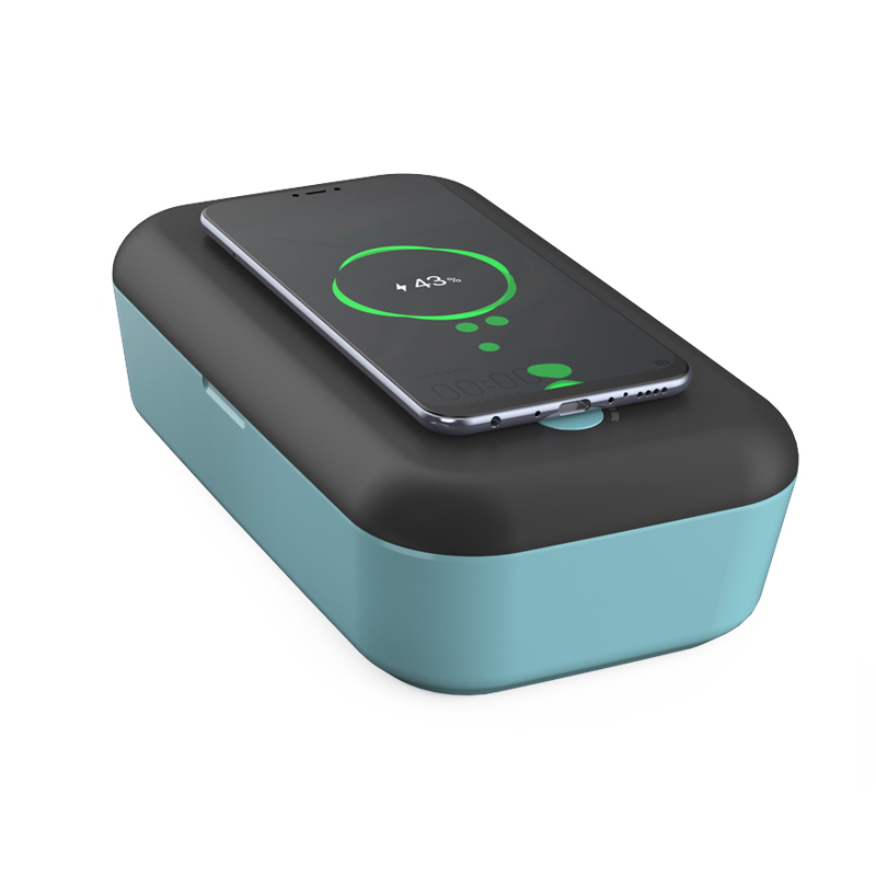 Veaqee cell phone UV sanitizer sterilizer box wireless charging XT100s